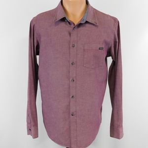 Oakley long sleeve button down shirt.  M